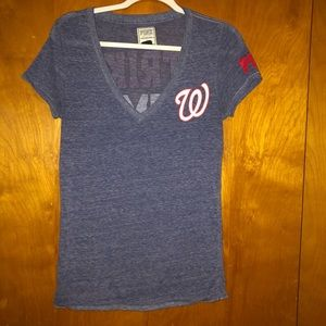 Victoria secret mlb washington nationals T-shirt M